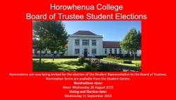 Board of Trustee Student Representative