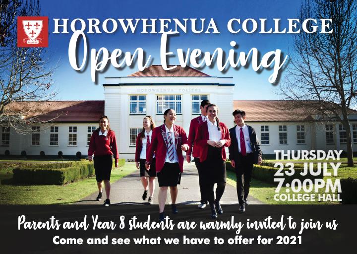 Open Evening Thursday 23 July 2020