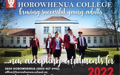 Enrolments Open for 2022